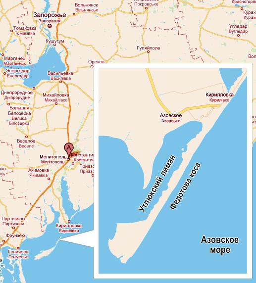 Карта Баз Кирилловка